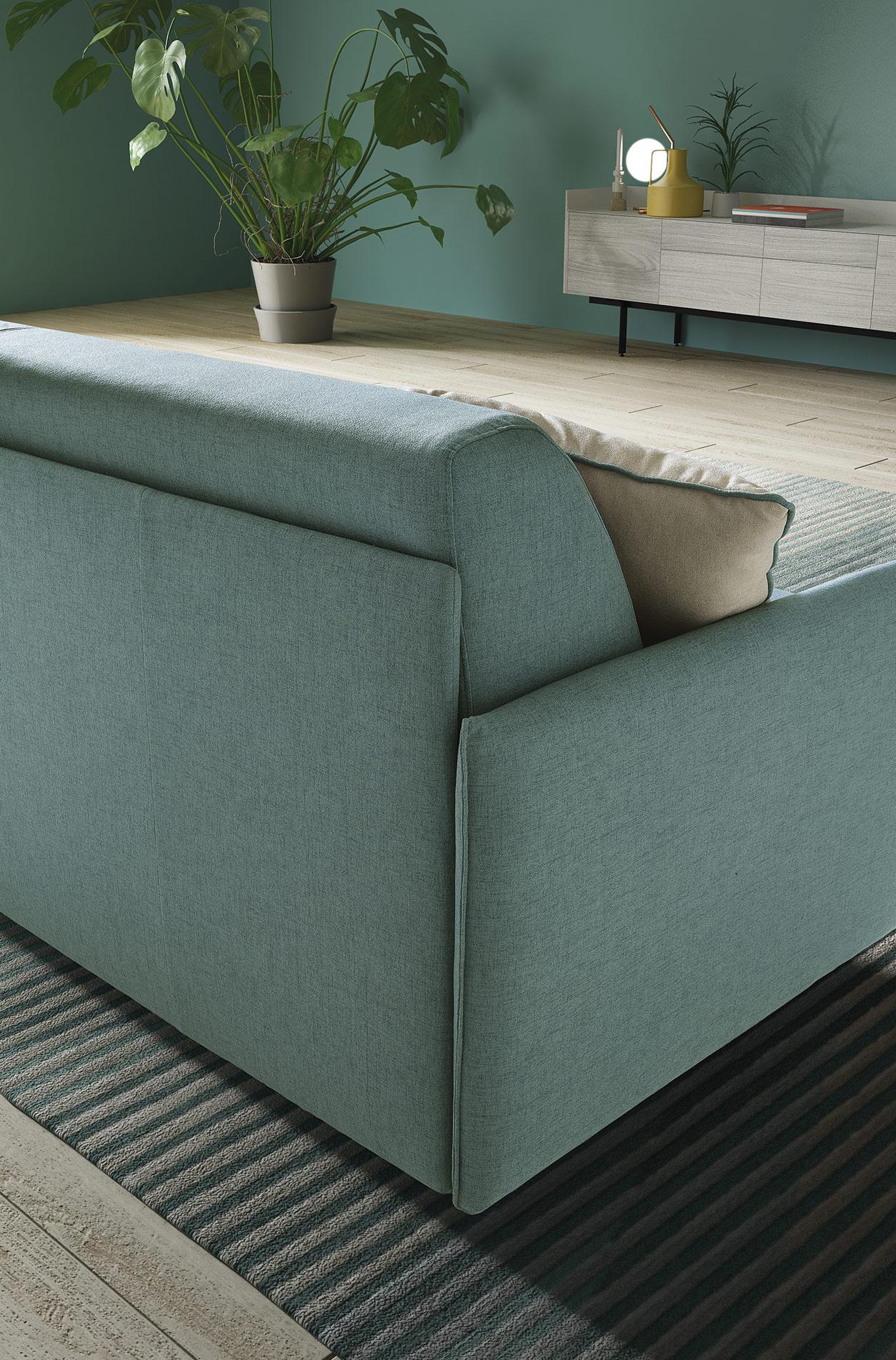 Sofa Naxos mit Bettfunktion | Exklusive Möbel von WohnKlusiv